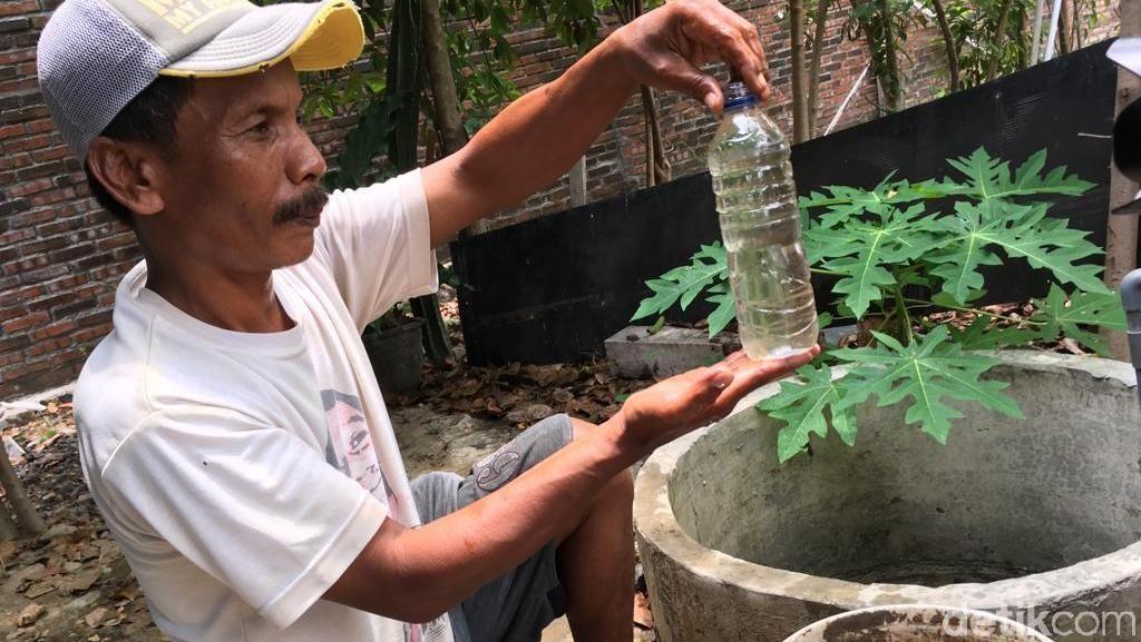 Video Air Sumur di Mojokerto Berubah Warna