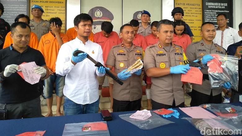 Polisi Tembak Mati Kapten Komplotan Perampok Bersenpi