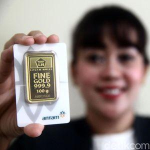 Emas Antam Dijual Rp 705.000/Gram