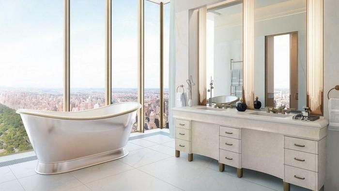 Pernah lihat isi apartemen termahal di New York, Amerika Serikat (AS)? Kalau belum langsung saja lihat di sini.