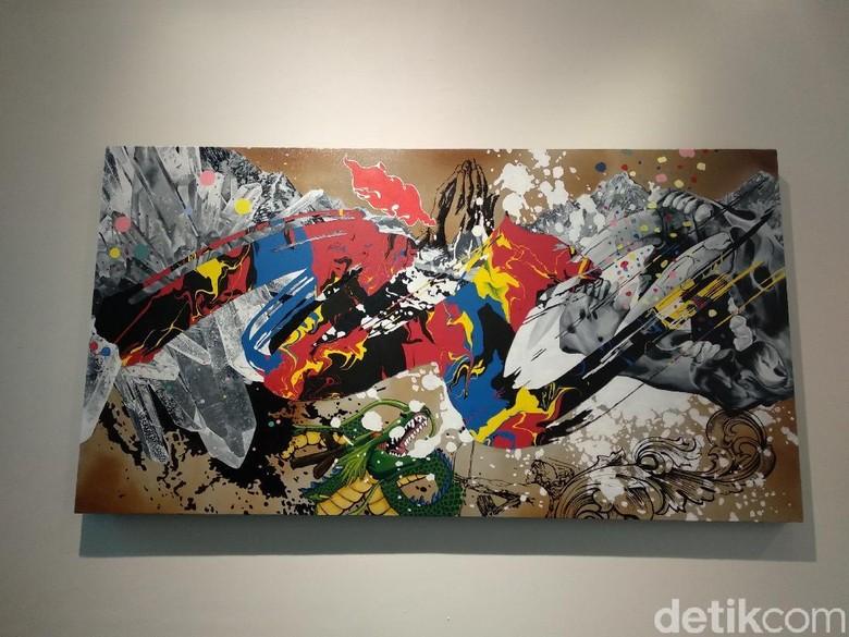 Pameran Seni Interlude Pajang Karya 2 Seniman Kontemporer Bandung