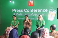 McDonald's Indonesia Kurangi Limbah Plastik Lewat  #MulaiTanpaSedotan
