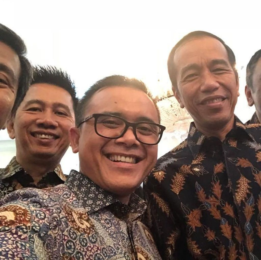 Bertemu Jokowi, Anas: Presiden Terus Dorong UMKM Pedesaan