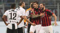 Hasil AC Milan vs Juventus: Mandzukic dan Ronaldo Menangkan Bianconeri