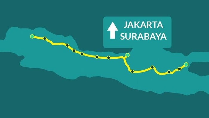 Jakarta Ke Surabaya Lewat Tol Tanpa Putus Segini Tarifnya