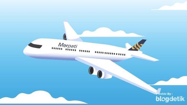 Angkut Kargo ke Timur RI, Merpati Terbang Lagi Januari