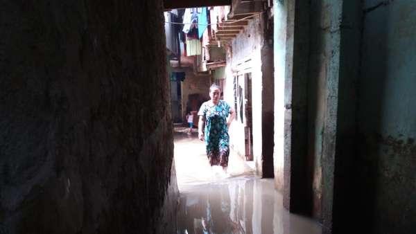 Kebanjiran, Warga Kebon Pala Kp Melayu Minta Normalisasi Ciliwung