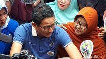 Temui Pedagang Cabai di Riau, Sandi: Politisi Nakal Dilado Saja