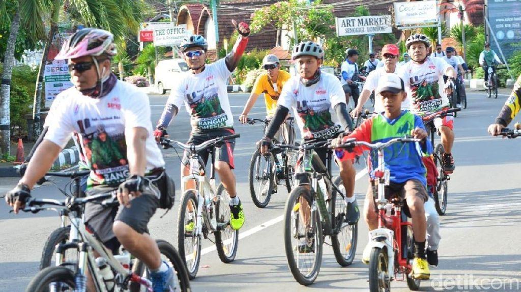 Bangkitkan Pariwisata Lombok, Kemenpora Gelar Event Sepeda Nusantara