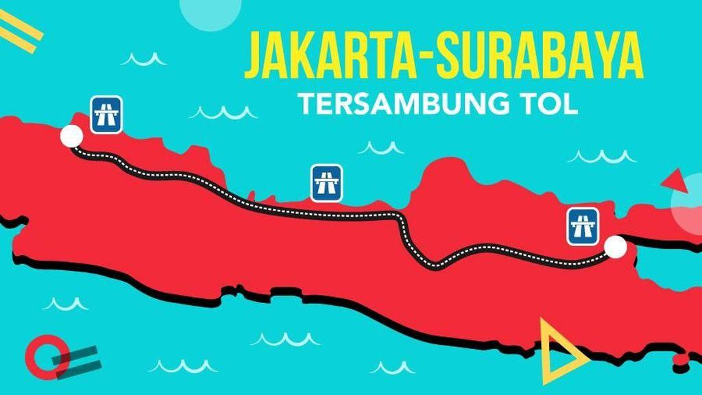 Perjalanan Tol Trans Jawa Akhirnya Nyambung dari JKT sampai SBY
