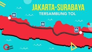 Jakarta-Surabaya Tersambung Tol