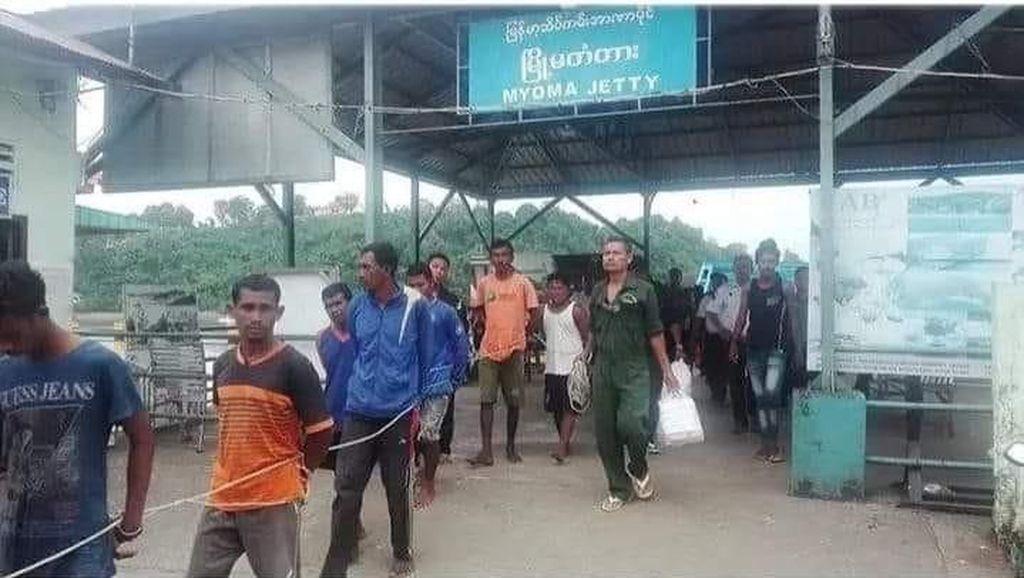 Bukan di Thailand, 16 Nelayan Aceh Ditangkap Tentara Myanmar