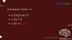 Salah satu cara untuk menjaga otak dari risiko kepikunan adalah terus melatihnya lewat kuis-kuis. Matematika bisa menjadi pilihan terbaik. Sanggup selesaikan?