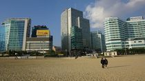 Damainya Pagi di Haeundae Beach, Busan