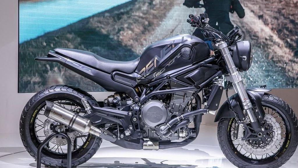Gantengnya Benelli Leoncino 800 Concept