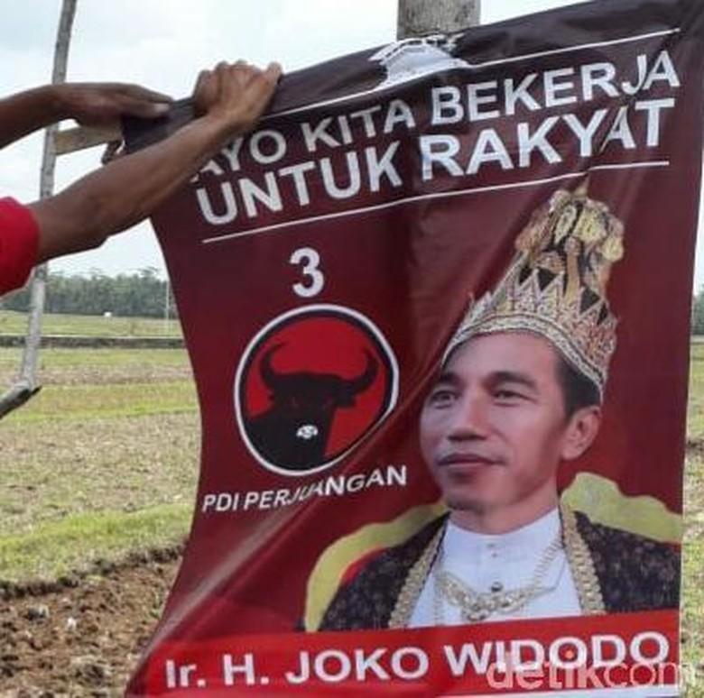 PDIP: Bisa Jadi Poster Raja Jokowi Buatan Pendukung Sendiri