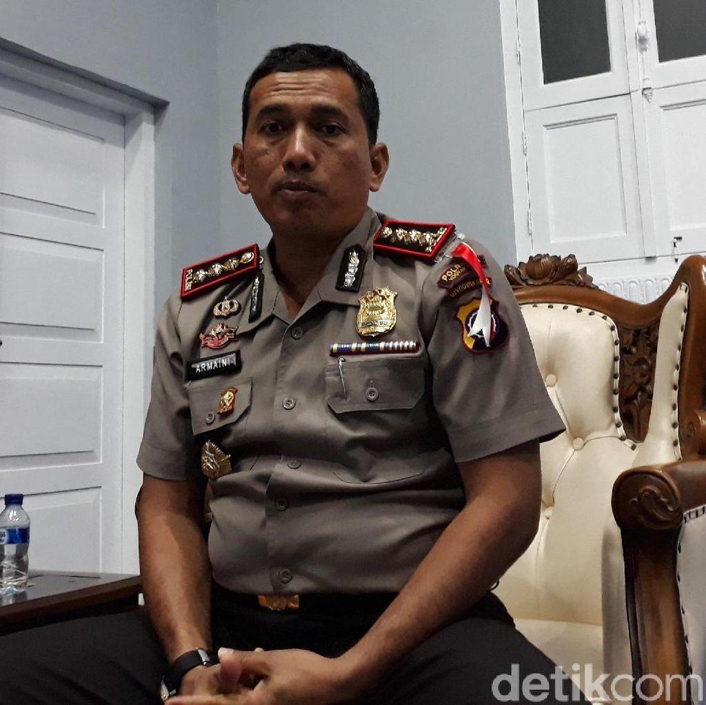 Polisi Tutup Sementara Wahana Bianglala di Sekaten Yogya