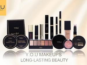 Brand Kosmetik Lokal Y.O.U Rilis Makeup Modern Glam yang Long Lasting
