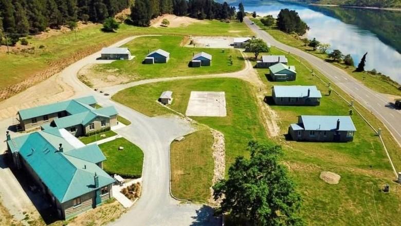 Foto: Lake Waitaki di Selandia Baru (Trade Me)