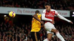 Arsenal Diredam Wolverhampton 1-1