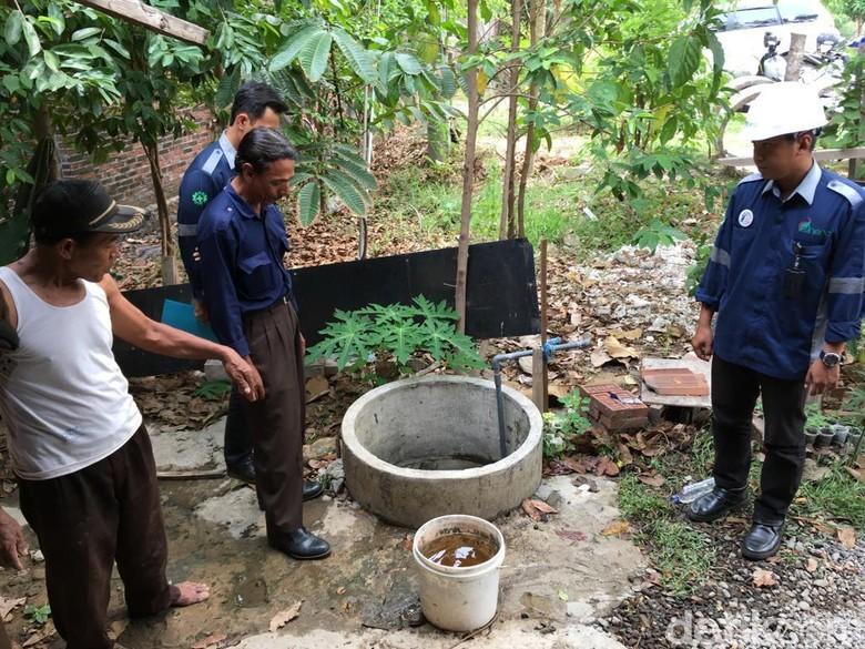 Polisi Selidiki Penyebab Air Sumur Warga Mojokerto Berubah Warna