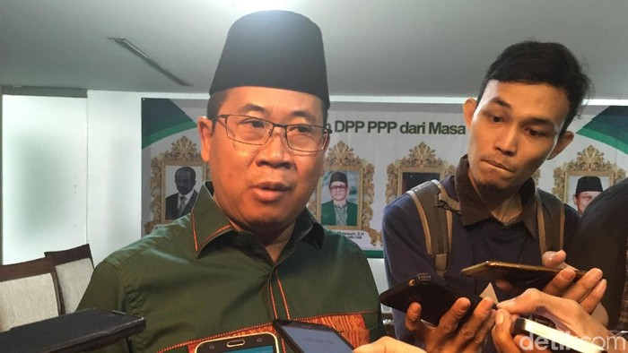 Sekjen PPP kubu Muktamar Jakarta, Sudarto (Foto: Arief Ikhsanudin/detikcom)