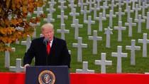 Trump Hingga Ratu Elizabeth II Peringati 100 Tahun Berakhirnya PD I
