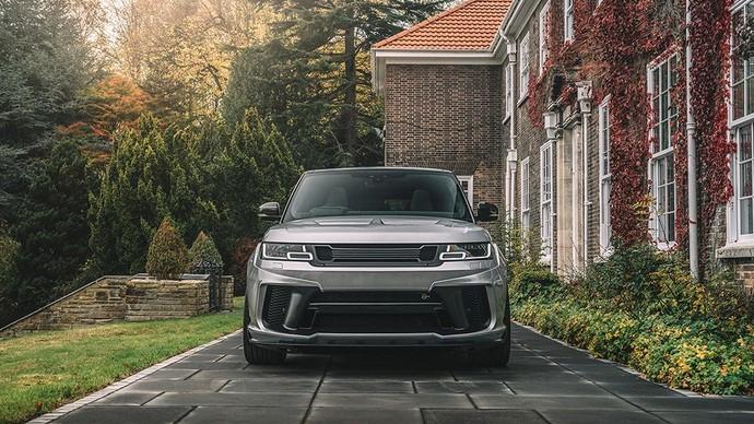 Baru-baru ini Kahn kembali meluncurkan Range Rover Sport 5.0 V8 Supercharged SVR Pace Car First Edition. Istimewa/Kahn Design.