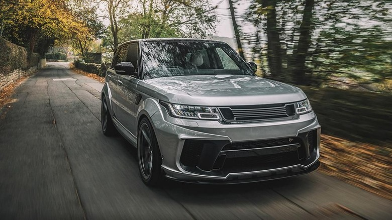 Range Rover Sport 5.0 V8 Supercharged SVR Pace Car First Edition Foto: Dok. KAHN DESIGN
