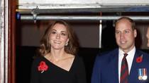 Adu Gaya Kate Middleton dan Meghan Markle Berbaju Hitam, Siapa Favoritmu?