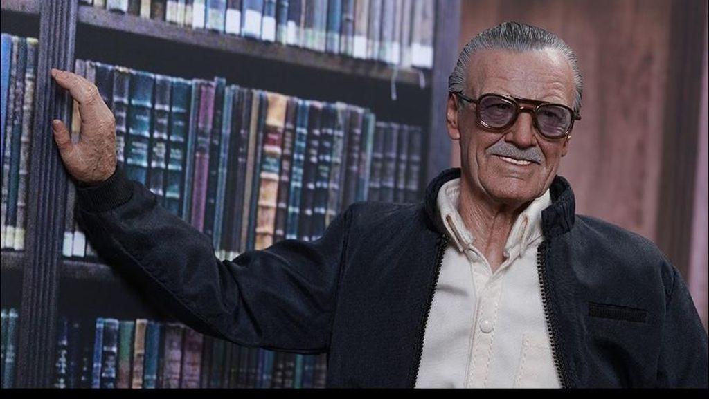 Tampil di Film Marvel, Stan Lee Tak Pernah Bosan Meski Cuma Jadi Cameo