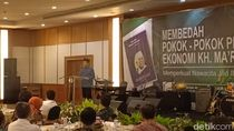 Soetrisno Bachir Hadiri Peluncuran Buku Pemikiran Maruf Amin