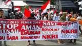 Aksi Mahasiswa Tuntut Prabowo Minta Maaf