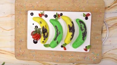 Resep Tokyo Banana Kukus Isi Cokelat, Camilan Lucu Warna Imut