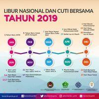 Catat! Ini Jadwal Libur Nasional dan Cuti Bersama 2019