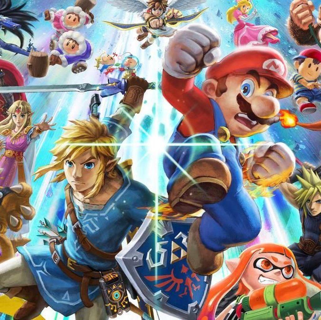 Belum Dirilis, Super Smash Bros Ultimate Sudah Dibajak