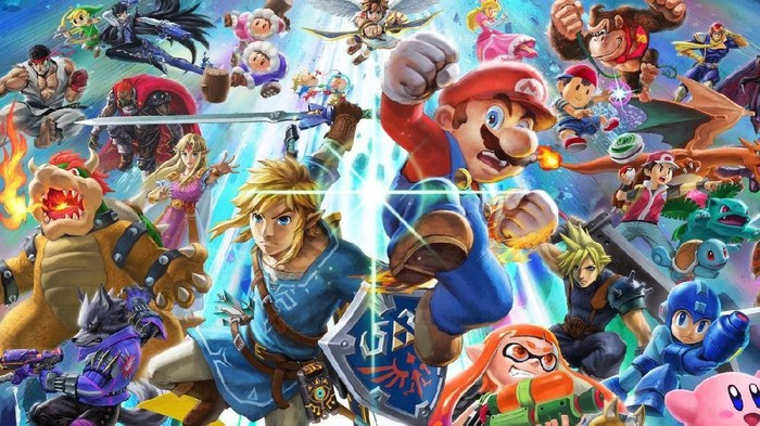 Super Smash Bros. Ultimate laris manis di Nintendo Switch sampai mengukir rekor. (Foto: istimewa)