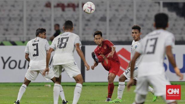 Andik Vermansah bermain cukup apik saat Timnas Indonesia mengalahkan Timor Leste.