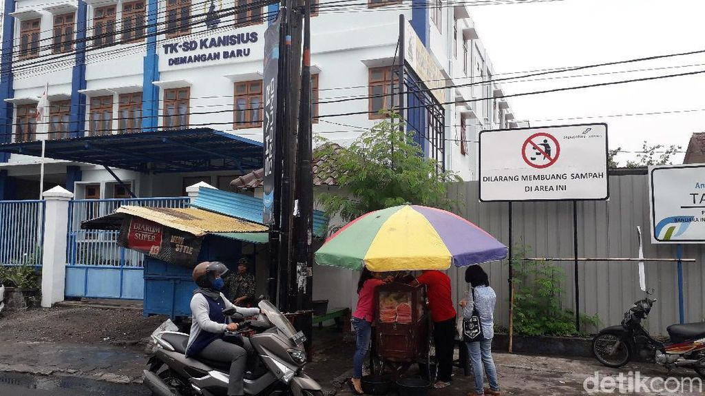 Viral Bocah Jatuh dari Lantai 3, Polisi Masih Tunggu Laporan Sekolah