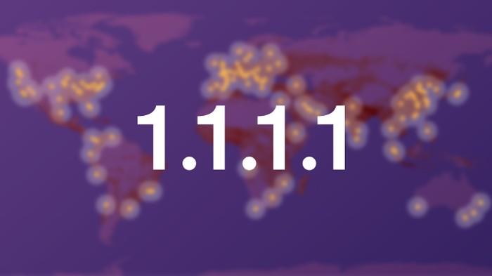 Aplikasi DNS Cloudflare tersedia di Android dan iOS (Foto: Dok. Cloudflare)