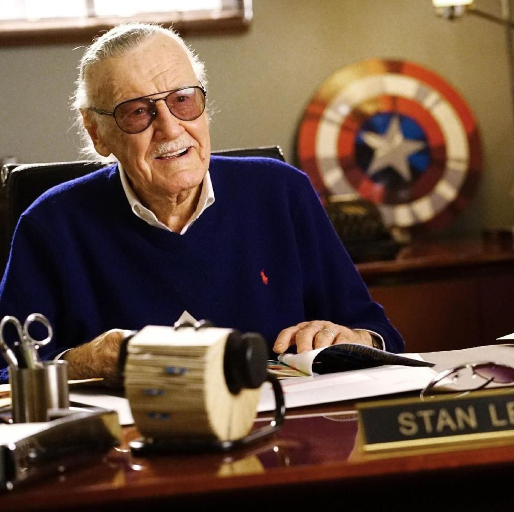 Ini Makna Excelsior, Slogan Andalan yang Jadi Motto Hidup Stan Lee