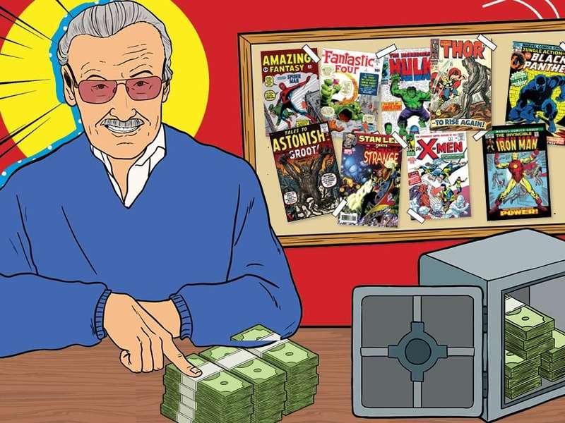 Karya dan Harta Stan Lee di Legenda Marvel