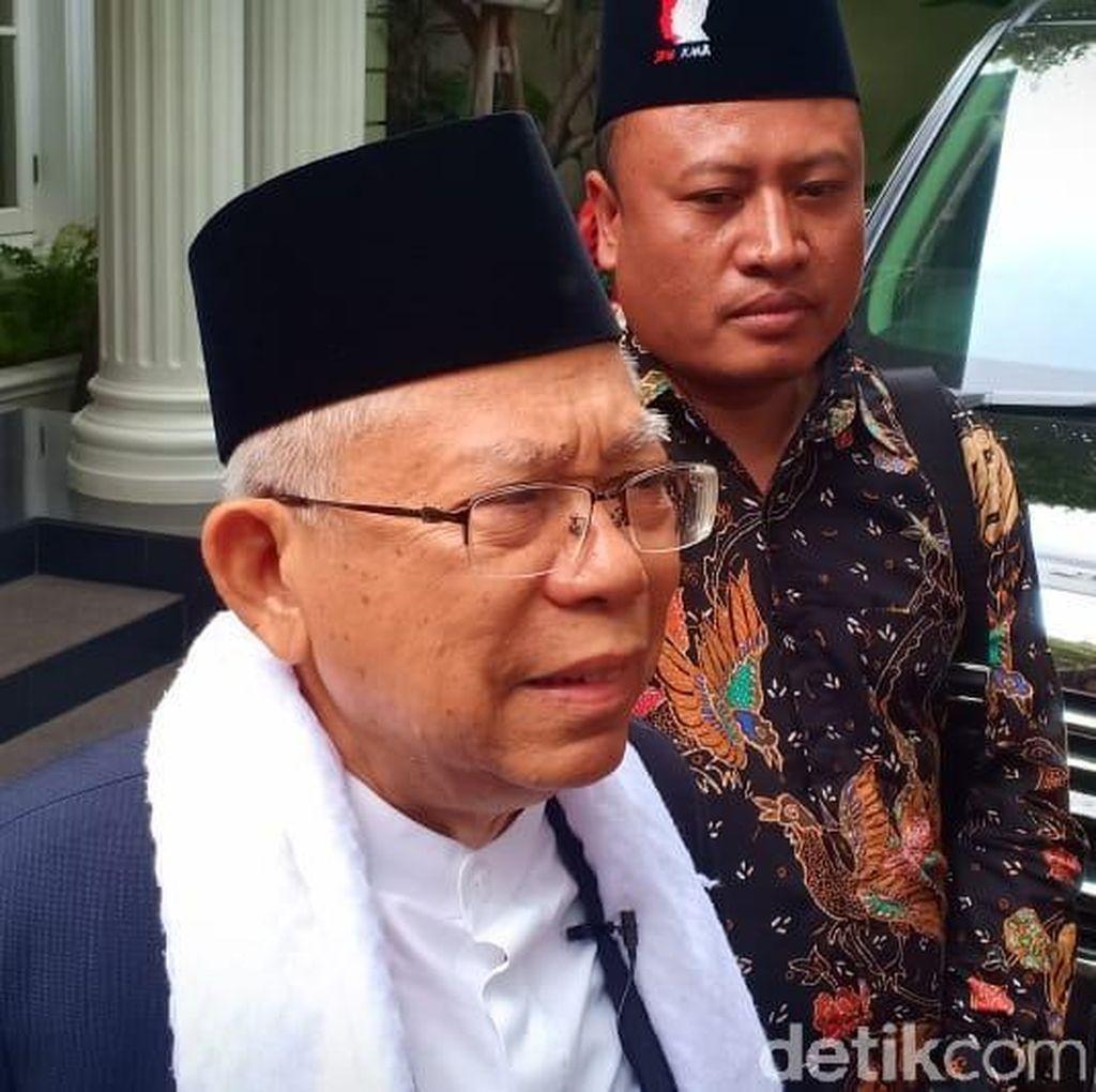 Diultimatum Forum Tunanetra, Ini Respons Maruf Amin