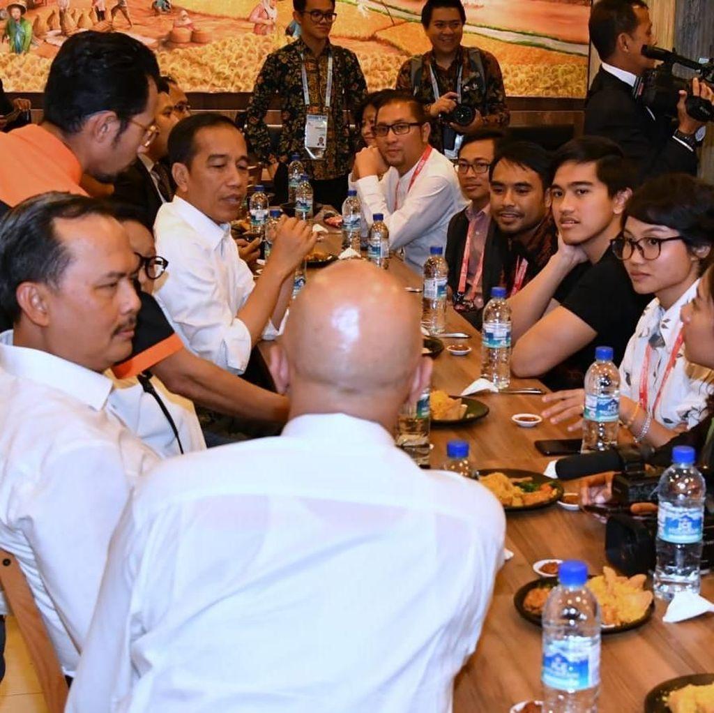 Kocak! Gaya Kaesang Balas Tweet Jokowi Soal Sang Pisang