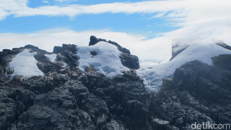 Es abadi di Taman Nasional Lorentz, Papua (Afif Farhan/detikTravel)