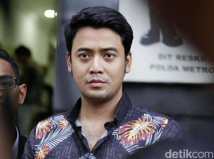 Kriss Hatta saat ditemui di Polda Metro Jaya.