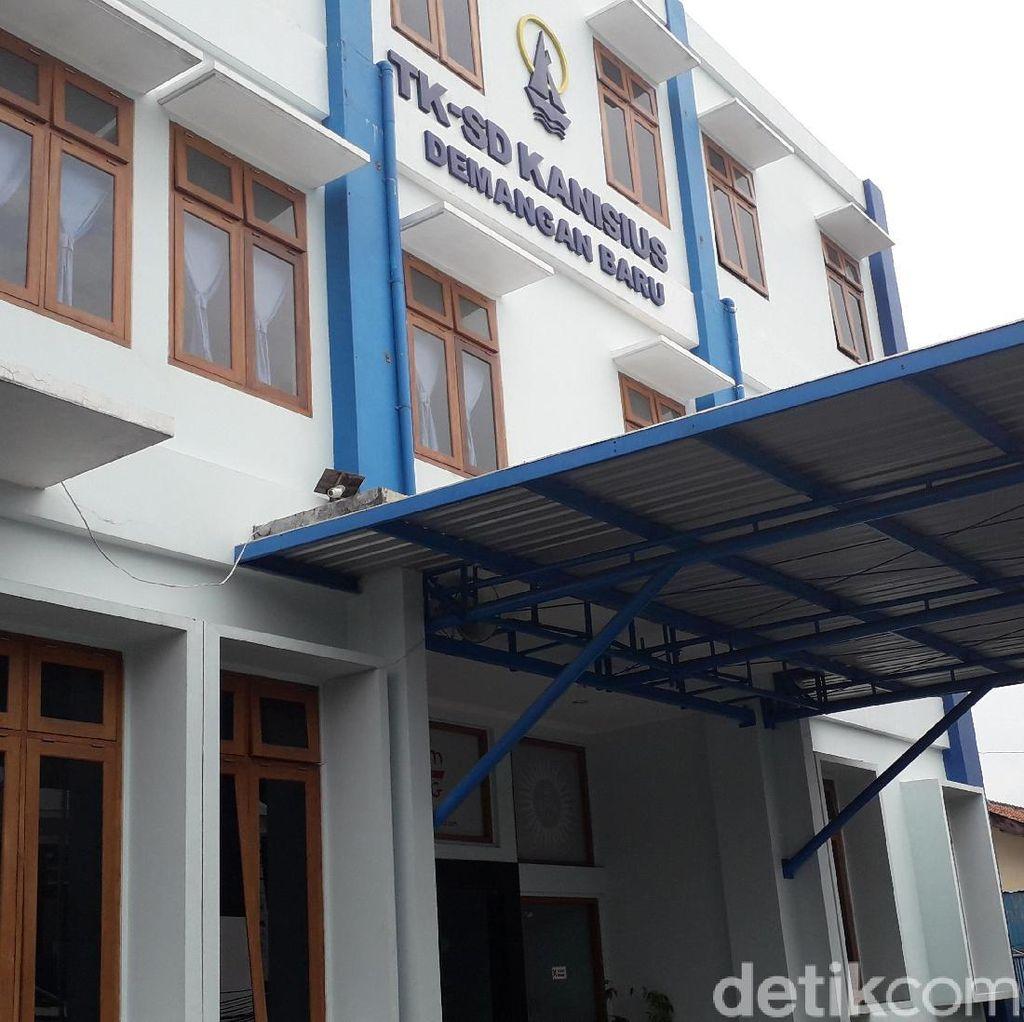 Detik-detik Siswa SD Jatuh dari Lantai 3 Sekolahnya di Sleman