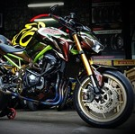 Modifikasi Kawasaki Z900 ala Bunglon, Habis Rp 150 Juta!