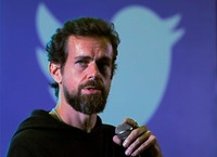 Twitter CEO Jack Dorsey addresses students during a town hall at the Indian Institute of Technology (IIT) in New Delhi, India, November 12, 2018. REUTERS/Anushree Fadnavis