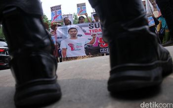 Ketua RW Dikriminalisasi, Warga Pulau Pari Demo PN Jakarta Utara